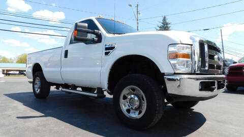 2008 Ford F-250 Super Duty for sale at Action Automotive Service LLC in Hudson NY