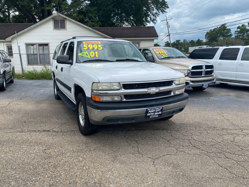 2001 Chevrolet Suburban for sale at Port City Auto Sales in Baton Rouge LA