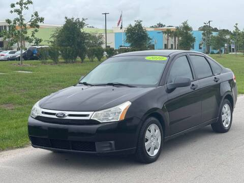 2010 Ford Focus for sale at GENESIS AUTO SALES in Port Charlotte FL