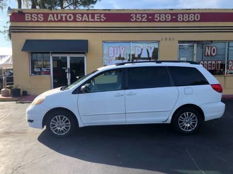 2007 Toyota Sienna for sale at BSS AUTO SALES INC in Eustis FL