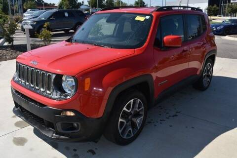 2015 Jeep Renegade for sale at PHIL SMITH AUTOMOTIVE GROUP - MERCEDES BENZ OF FAYETTEVILLE in Fayetteville NC