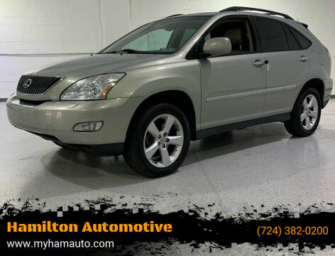 2004 Lexus RX 330 for sale at Hamilton Automotive in North Huntingdon PA