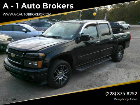 2012 Chevrolet Colorado for sale at A - 1 Auto Brokers in Ocean Springs MS