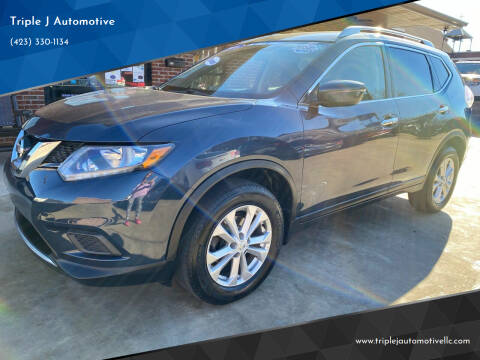 2016 Nissan Rogue for sale at Triple J Automotive in Erwin TN