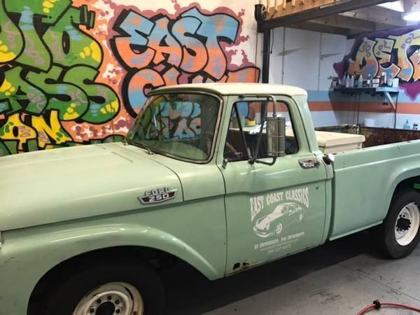 1963 Ford F-250 for sale in Cadillac, MI