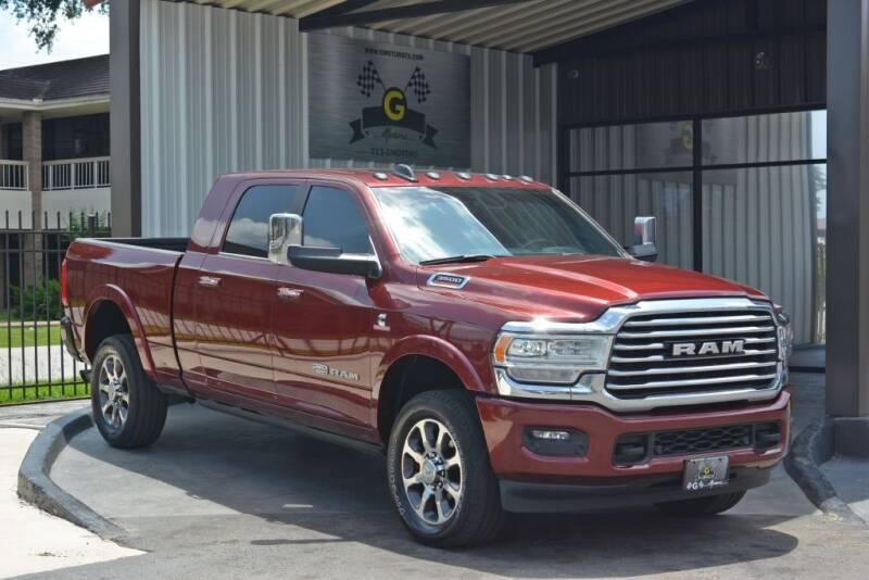 2020 RAM Ram Pickup 3500 for sale at G MOTORS in Houston TX