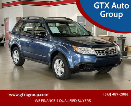 2012 Subaru Forester for sale at GTX Auto Group in West Chester OH