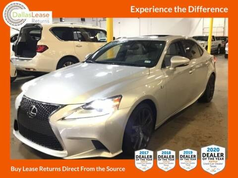 2014 Lexus IS 350 for sale at Dallas Auto Finance in Dallas TX