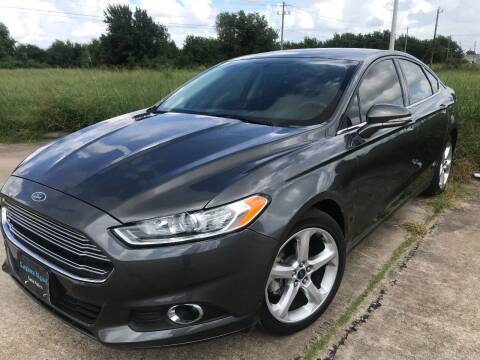 2016 Ford Fusion for sale at Laguna Niguel in Rosenberg TX
