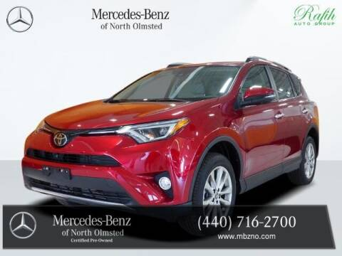 2018 Toyota RAV4 for sale at Mercedes-Benz of North Olmsted in North Olmstead OH