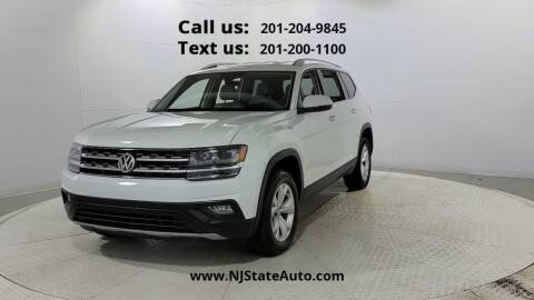2018 Volkswagen Atlas for sale at NJ State Auto Used Cars in Jersey City NJ