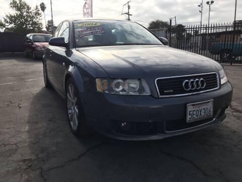 2004 Audi A4 for sale at Joe's Automobile in Vallejo CA