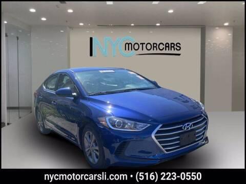 2018 Hyundai Elantra for sale at NYC Motorcars in Freeport NY