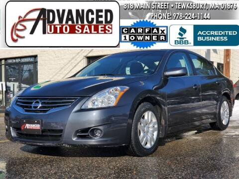 2010 Nissan Altima for sale at Advanced Auto Sales in Tewksbury MA