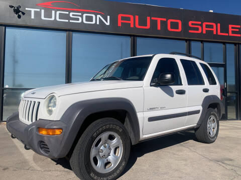 2003 Jeep Liberty for sale at Tucson Auto Sales in Tucson AZ