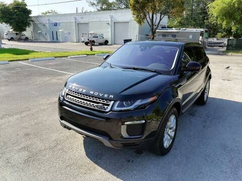 2017 Land Rover Range Rover Evoque for sale at Best Price Car Dealer in Hallandale Beach FL