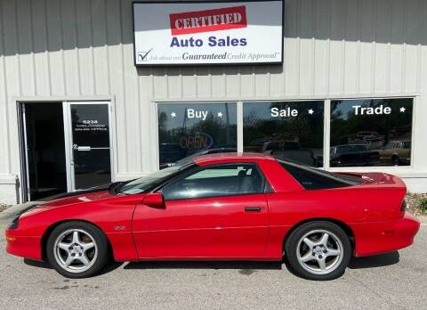 1996 Chevrolet Camaro for sale at Certified Auto Sales in Des Moines IA