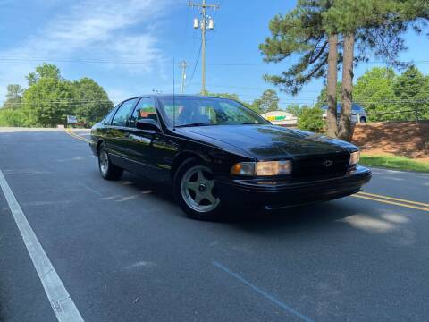 1996 Chevrolet Caprice for sale at THE AUTO FINDERS in Durham NC