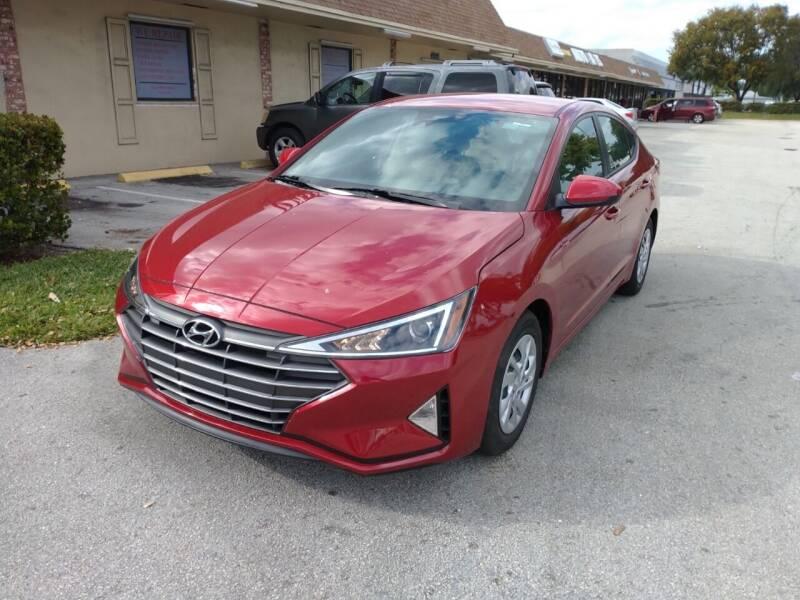 2020 Hyundai Elantra for sale at LAND & SEA BROKERS INC in Deerfield FL