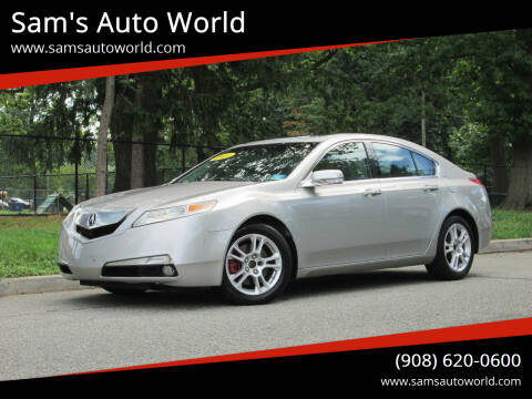 2011 Acura TL for sale at Sam's Auto World in Roselle NJ