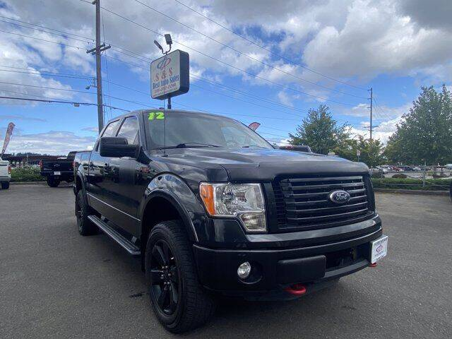 2012 Ford F-150 for sale at S&S Best Auto Sales LLC in Auburn WA