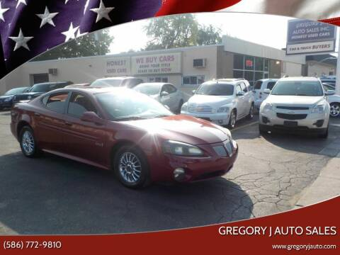 2004 Pontiac Grand Prix for sale at Gregory J Auto Sales in Roseville MI