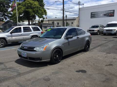 2008 Ford Focus for sale at Longoria Motors in Portland OR