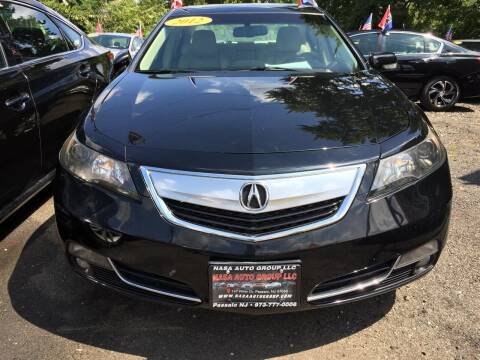 2012 Acura TL for sale at Nasa Auto Group LLC in Passaic NJ