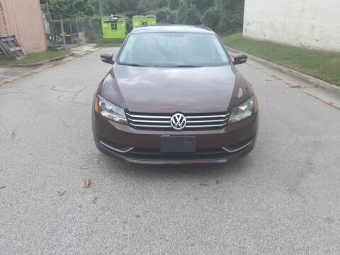 2014 Volkswagen Passat for sale at Horizon Auto Sales in Raleigh NC