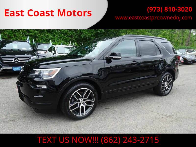 2018 Ford Explorer for sale at East Coast Motors in Lake Hopatcong NJ