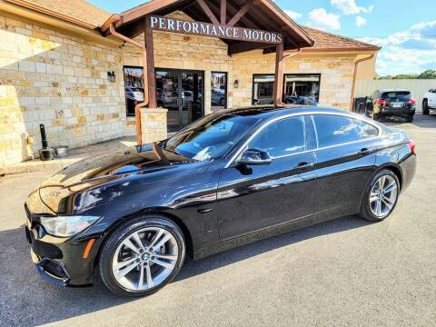 2016 BMW 4 Series for sale at Performance Motors Killeen Second Chance in Killeen TX