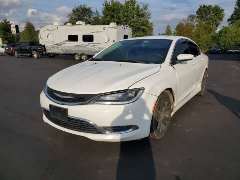 2015 Chrysler 200 for sale at Cruisin' Auto Sales in Madison IN