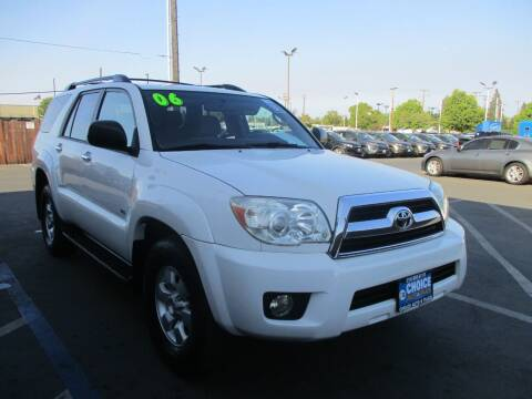 2006 Toyota 4Runner for sale at Choice Auto & Truck in Sacramento CA