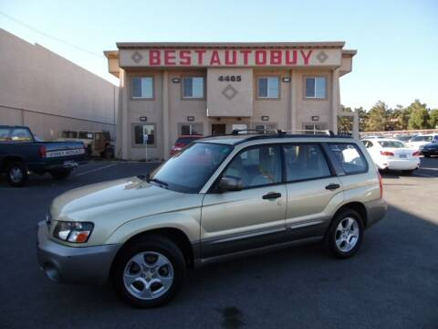 2003 Subaru Forester for sale at Best Auto Buy in Las Vegas NV