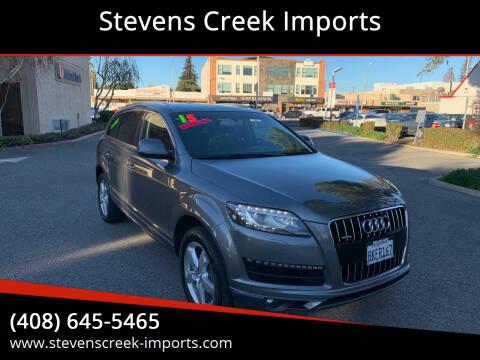 2015 Audi Q7 for sale at Stevens Creek Imports in San Jose CA