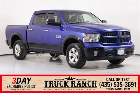 2014 RAM Ram Pickup 1500 for sale at Truck Ranch in Logan UT