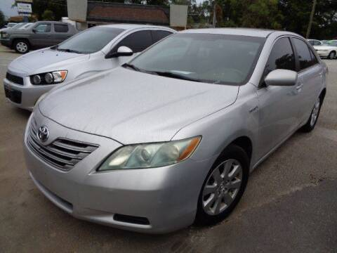 2009 Toyota Camry Hybrid for sale at THE TRAIN AUTO SALES & LEASING in Mauldin SC