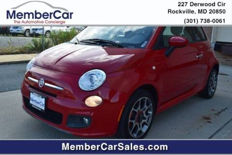 2012 FIAT 500 for sale at MemberCar in Rockville MD