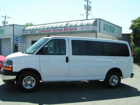 2019 Chevrolet Express Passenger for sale at Common Sense Motors in Spokane WA
