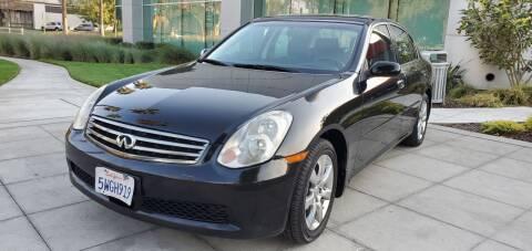 2006 Infiniti G35 for sale at Top Motors in San Jose CA