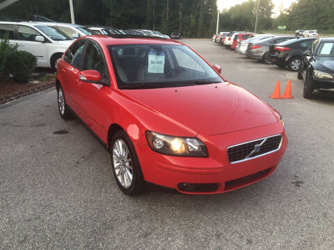 2007 Volvo S40 for sale at Galaxy Auto Sale in Fuquay Varina NC