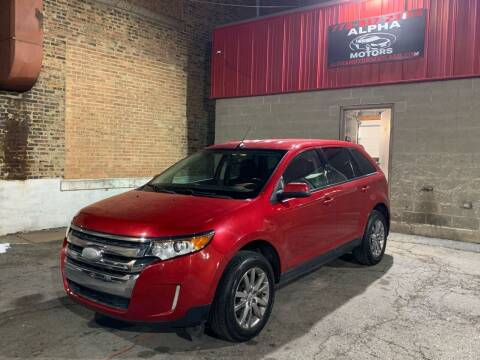 2012 Ford Edge for sale at Alpha Motors in Chicago IL