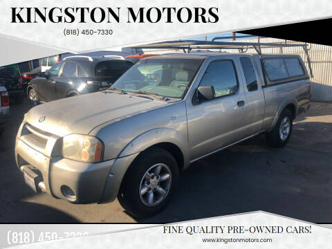 2001 Nissan Frontier for sale at Kingston Motors in North Hollywood CA