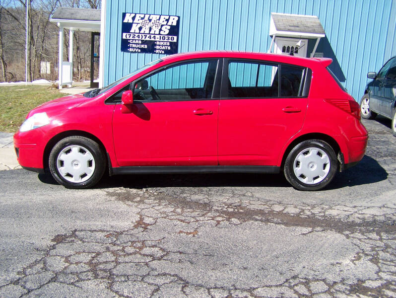 2009 Nissan Versa for sale at Keiter Kars in Trafford PA