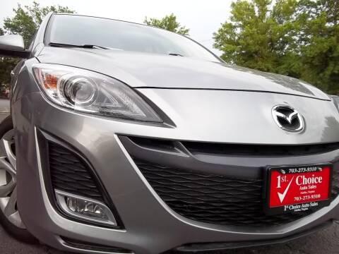 2010 Mazda MAZDA3 for sale at 1st Choice Auto Sales in Fairfax VA
