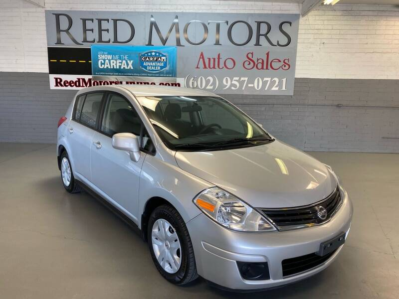 2012 Nissan Versa for sale at REED MOTORS LLC in Phoenix AZ
