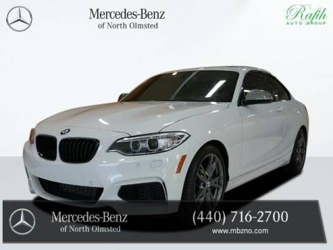 2016 BMW 2 Series for sale at Mercedes-Benz of North Olmsted in North Olmstead OH