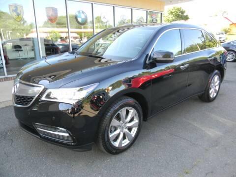 2016 Acura MDX for sale at Platinum Motorcars in Warrenton VA