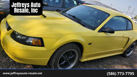 2002 Ford Mustang for sale at Jeffreys Auto Resale, Inc in Clinton Township MI