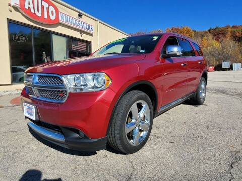2013 Dodge Durango for sale at Auto Wholesalers Of Hooksett in Hooksett NH
